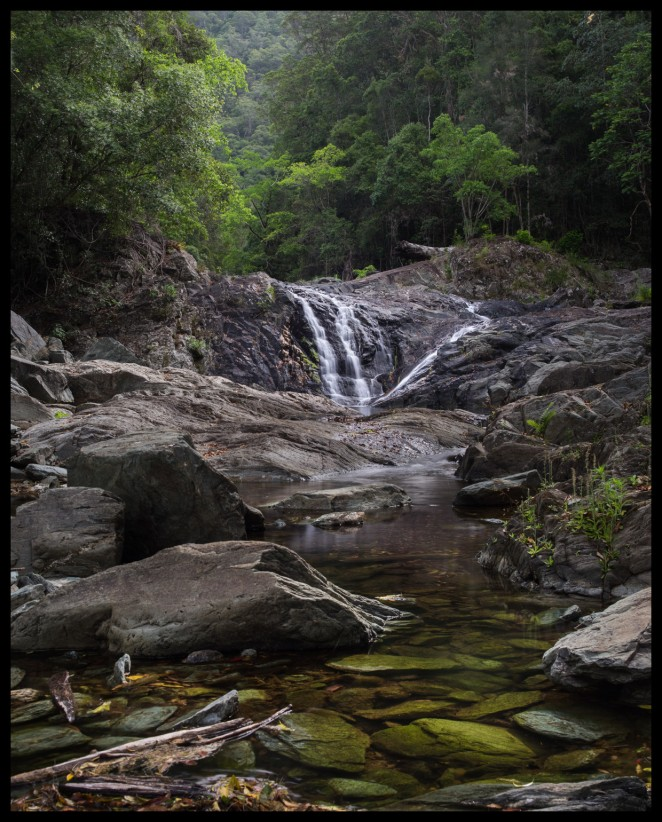 Artists Cascades on Booloumba Ck. Conondale NP.